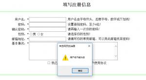 《【javascript】基于注册页面的验证输入》