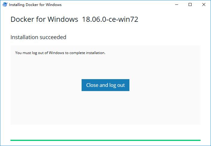 《windows安装配置Docker》